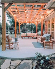 46 backyard porch ideas on a budget patio makeover outdoor spaces best of i like this open layout like the pergola over the table grill page 23 Backyard Patio Designs, Backyard Pergola, Backyard Projects, Backyard Landscaping, Pergola Plans, Pergola Kits, Pergola Ideas, Pergola Roof, Backyard Storage