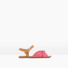 Image 1 of SANDALS WITH BOW from Zara