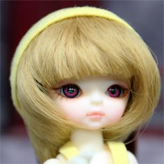 Hujoo 12cm SUVE Blank Apricot ABS Ball Jointed Doll BJD  for OOAK in USA