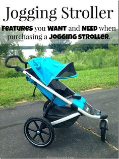 jogging stroller: features you want and need when purchasing a jogging stroller