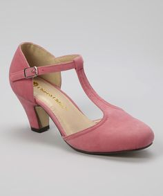 Look what I found on #zulily! Coral Mina Pump #zulilyfinds