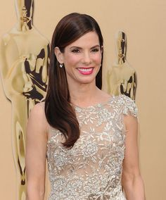 Oscar Beauty: The Secret To Sandra Bullock's Shiny, Mirror-Like Hair