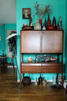Commode Vintage Seventies Créateur Galerie Stimmung Augustin David