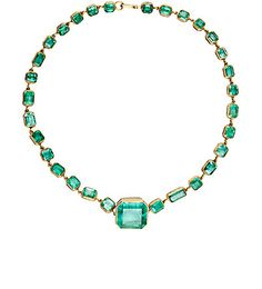 We Adore: The Colombian Emerald Rivière from Judy Geib at Barneys New York