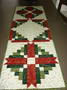 Christmas themed table runner