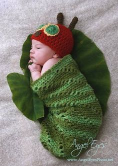 Baby Crochet and Photo Props : HappyBabyCrochet...This was too cute not to pin, despite the fact that my baby is 17 yrs old. ;)