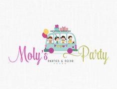 Premade Children Party Design - Birthday Party -Photography Logo- Kids Logo