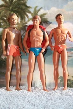 Hunky Ken at the beach