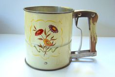1950s Androck Flour Sifter Kitsch Retro by LizzieTishVintage, $12.00