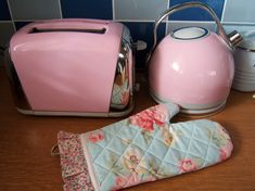 Pink appliances
