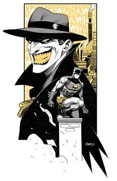 Batman & Joker by Dan Mora