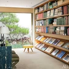 Image result for mid century modern built in bookcase