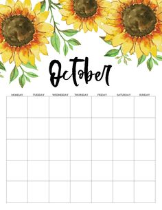 Calendar 2019 Printable, Monthly Calendar Template, Diy Calendar, Print Calendar, Printable Planner, Calendar 2020, Planner Sheets, Planner Pages, Preschool Arts And Crafts
