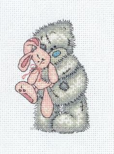 Tatty Teddy - Cuddly Rabbit cross stitch