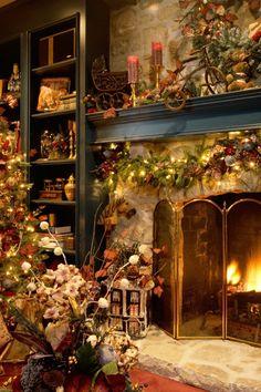 Beautiful Christmas room