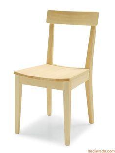 Elegant CS1101 La Locanda   Stuhl Aus Gebleichtem Buchenholz