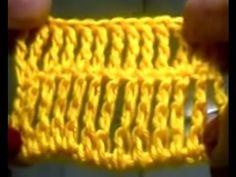 CROCHÊ 6 - Como fazer ponto alto triplo em crochê (INICIANTES) - YouTube