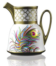 Prouna's Jeweled Toned Peacock inspired creamer (Persona Collection)