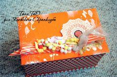 Блог Татьяны Орехво: Коробка за час. Пошаговый мастер-класс.