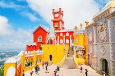 The Beautiful Pena Palace Of Sintra, Portugal (40)
