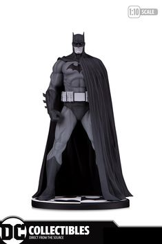 Dc Comics Batman Black & White Jim Lee Statue Dc Comics Collectibles