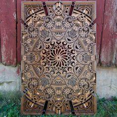 Stradivar by Wooden Wall Art