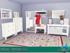 Sims 4 CC's - The Best: IKEA Hemnes Hallway Set by Natatanec