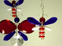 4th of July Nursery Idea Red White Blue by MobileSuncatchers