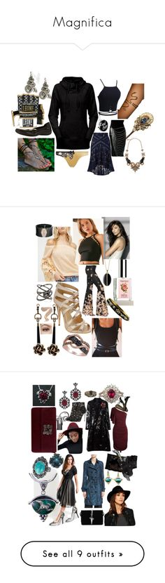 """""""Magnifica"""" by mirage16th ❤ liked on Polyvore featuring cam, REGALROSE, Walking Cradles, Sara Attali, Leone 1947, Agent Provocateur, Roberto Cavalli, accessorize, Serpent and tantalize"""