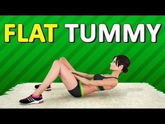 Top 5 Flat Belly Exercises (Abs Workout At Home) keto # clean_eating women and_after Flat Belly Workout, Best Ab Workout, Abs Workout For Women, Ab Workout At Home, Workout For Beginners, Belly Fat Burner Workout, Effective Ab Workouts, Lower Ab Workouts, Best Abdominal Exercises