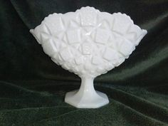 Hey, I found this really awesome Etsy listing at https://www.etsy.com/listing/270421203/westmoreland-old-quilt-design-fan-vase