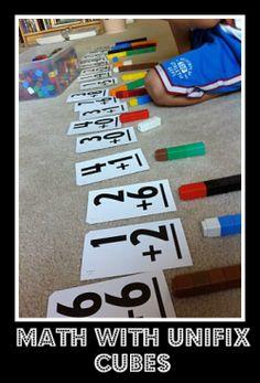 Flashcards & Unifix Cubes=)