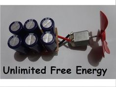 Free Energy | How To Make Capacitor Bank For Free Energy | Supercapacitor