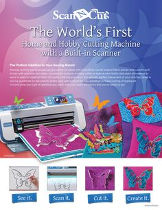 Scan n' Cut by Brother.  It takes crafting to a whole new level.  Find it at Shop Joya! www.shopjoya.com