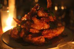 Lazy Susan Room at Smoking Goat London Food, Lazy Susan, Goats, Smoking, Buttons, Chicken, Room, Goat, Cigars