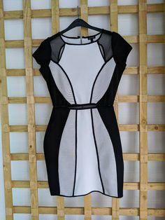 River Island Dresses, Dresses For Sale, Dress Black, Monochrome, Size 12, Black And White, Ebay, Fashion, Black White