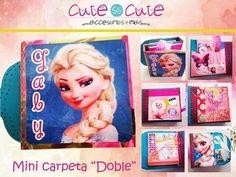 """Mini carpeta """"Doble"""" Elsa"""