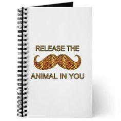 Animal In You Tiger Stripe Mustache Journal> Animal In You Tiger Stripe Mustache> Welcome To Presents From Santa