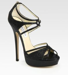 d1b2454825d tiawong on Lyst JIMMY CHOO Black Platform Sandals