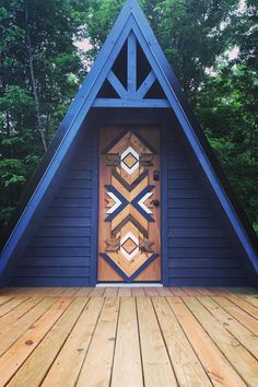 Cabins For Sale, Tiny Cabins, Tiny House Cabin, Tiny Houses, A House, A Frame House Plans, A Frame Cabin, Tiny House Plans, Cabin Design