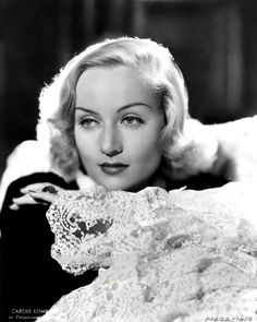 """summers-in-hollywood: """" Close up shot of Carole Lombard, """" Golden Age Of Hollywood, Classic Hollywood, In Hollywood, Old Hollywood Glamour, Classic Actresses, Classic Films, Actors & Actresses, Hollywood Actresses, Divas"""