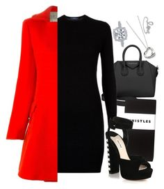 """Untitled #1415"" by karalyon ❤ liked on Polyvore featuring moda, Givenchy, Polo Ralph Lauren, Aquilano.Rimondi, Whistles, Miu Miu, Elsa Peretti y Sydney Evan"