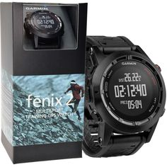 Garmin Fenix 2: The Toughest GPS Multisport Watch!  For Running, Cycling, Swimming, Triathlon, Ski And More.  Navigation Capability, Weatherproof And Much More.