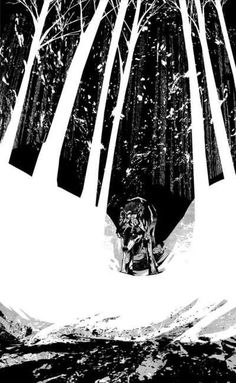 wolf illustration https://www.behance.net/gallery/306786/White-Fang