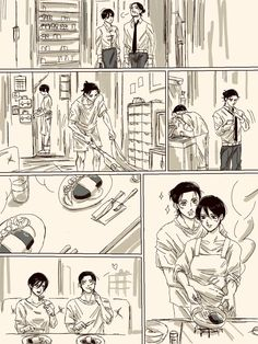 Attack On Titan Comic, Attack On Titan Ships, Attack On Titan Fanart, Anime Witch, Birthday Girl Quotes, Eren And Mikasa, Eremika, Anime Expressions, Comics Story