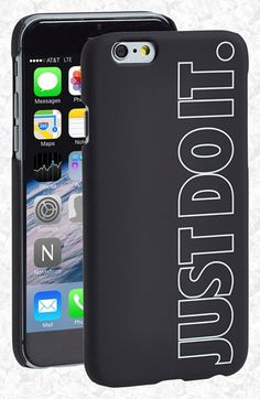 Nike 'Just Do It.' iPhone 6 Case available at #Nordstrom