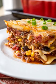 Mexican Lasagna- must try this!!