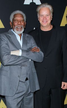 The Shawshank Redemption Cast Reunites 20 Years Later—Check Out Tim Robbins and Morgan Freeman Now! Tim Robbins, The Shawshank Redemption, The Dark Knight Trilogy, Top Film, Black Actors, Morgan Freeman, Best Supporting Actor, Film Serie, Film Stills