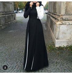 beauty, hijab, and stylé image