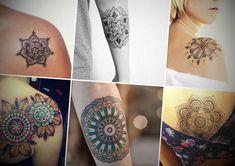 Tatuagem de Mandala - http://fotosdetatuagensfemininas.com/tatuagem-de-mandala/